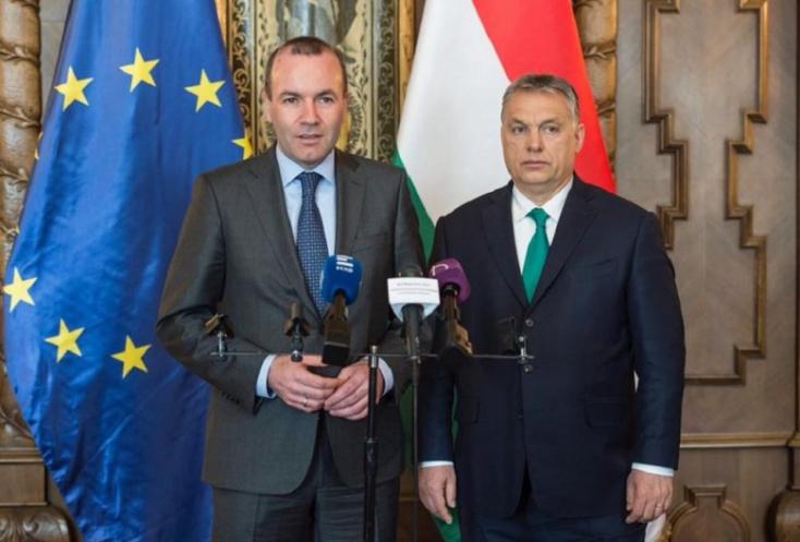 Weber: Orbán dönti el, melyik pártcsalád tagja legyen a Fidesz