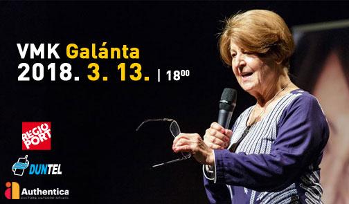 """""""Önismeret, önbizalom, önmegvalósítás""""- Prof. Dr. Bagdy Emőke előadása Galántán!"""