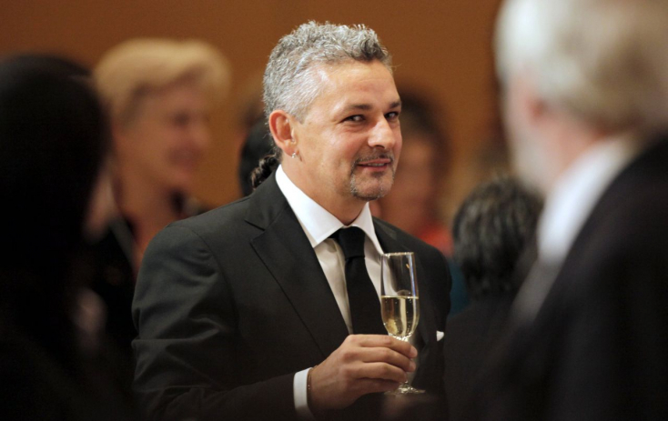Debrecenben járt Roberto Baggio