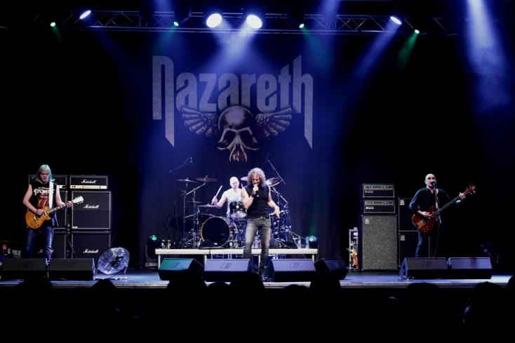 NAZARETH - a legendás skót zenekar tájainkon