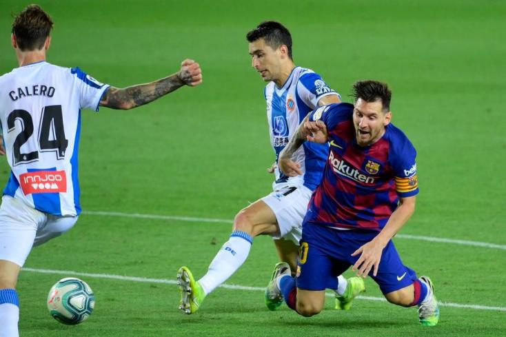 Suárez góljával győzött a Barcelona, kiesett az Espanyol