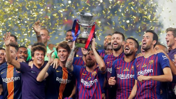 A Barcelona nyerte a Spanyol Szuperkupát