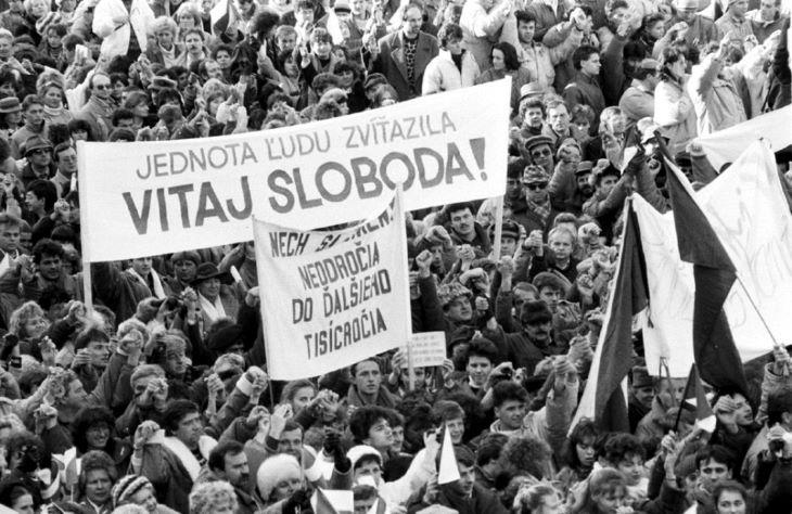 Harmincegy év telt el a bársonyos forradalom óta