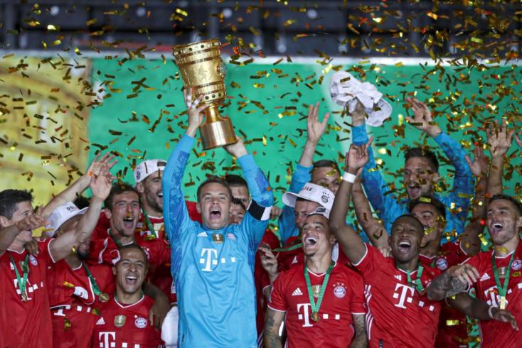Német Kupa - Duplázott a Bayern (Videó)