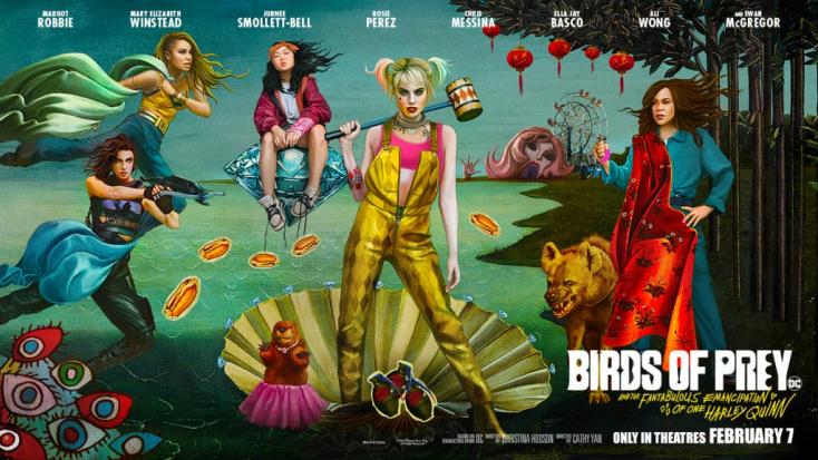 Ragadozó madarak: Konfettitengerben úszó bolondozás