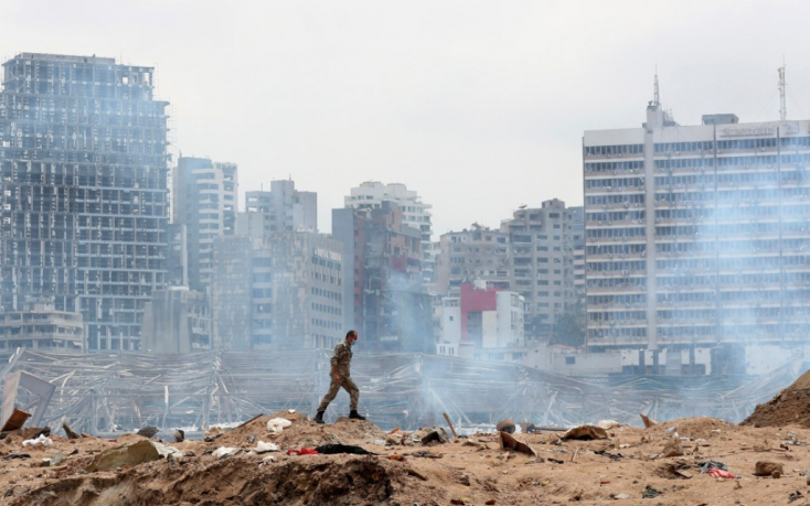Amióta felrobbant a fél főváros, Libanonban nem működik a kormányzat