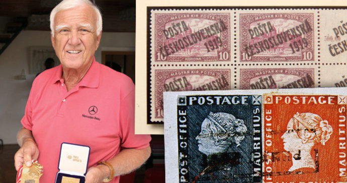 Nagy értékű csehszlovák bélyegek kerülnek kalapács alá