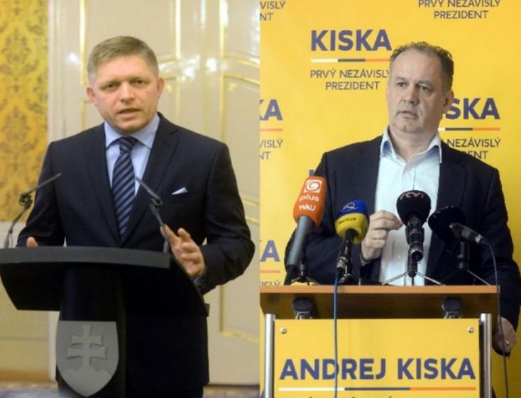ELNÖKVÁLASZTÁS: Kiska erősödik, Hrušovský gyengül