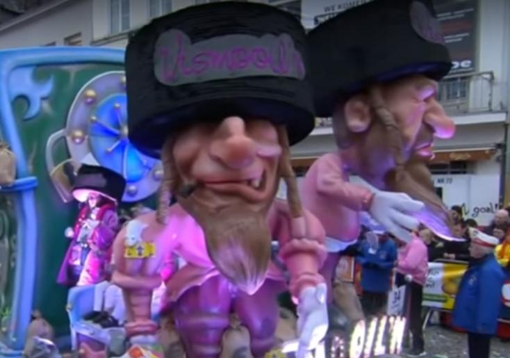Antiszemitának találták, lekerül az ENSZ listájáról egy belgiumi karnevál