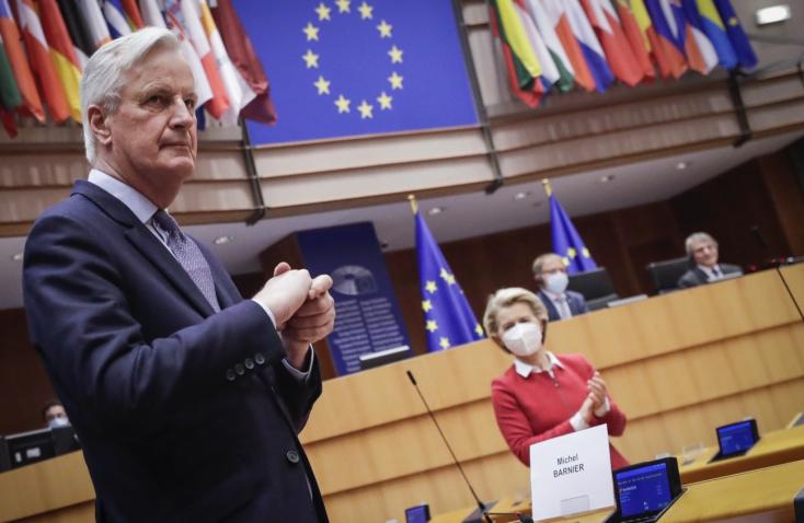 Brexit:Az EP megszavazta az EU és az Egyesült Királyság közötti megállapodást