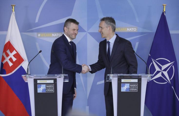 Pellegrini szerint Szlovákia hű marad a NATO-hoz