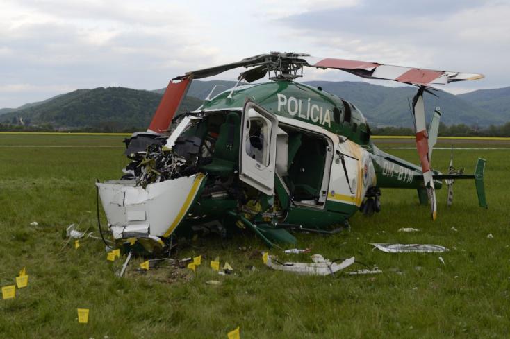 Nem véletlenül zuhant le a szlovák rendőrségi helikopter