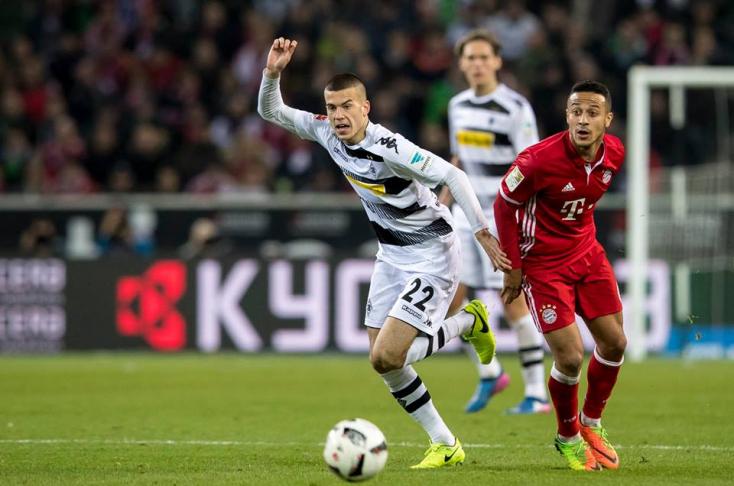 Bénes László a Bayern München elleni meccsen debütált