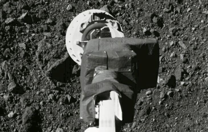 Valószínűleg sikeres volt az első amerikai mintagyűjtés egy aszteroidáról