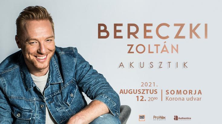 Bereczki Zoltán akusztikus koncert Somorján!