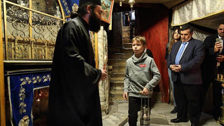 Már Európában van a Betlehemi Békeláng!