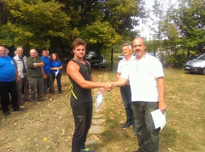 Nyárasdi sportlövők Csornán