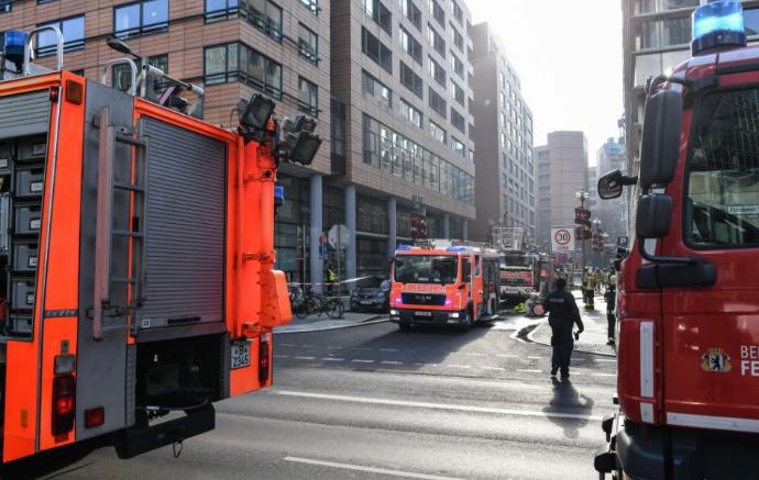 Tűz ütött ki egy moszkvai bevásárlóközpontban, egy ember meghalt