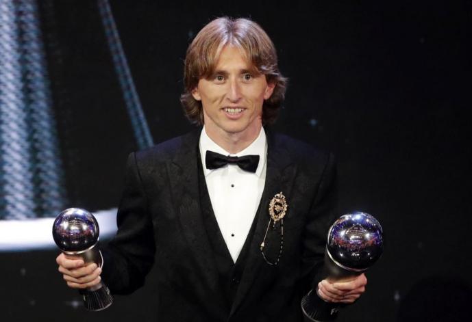 FIFA-gála - Luka Modric lett az Év játékosa