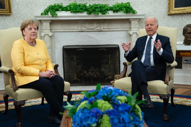 Biden: az Egyesült Államok és Németország együttműködése erős, és az is marad