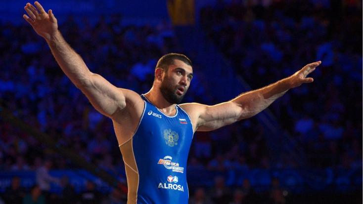 Négy évre eltiltották a doppingoló orosz birkózó olimpiai bajnokot