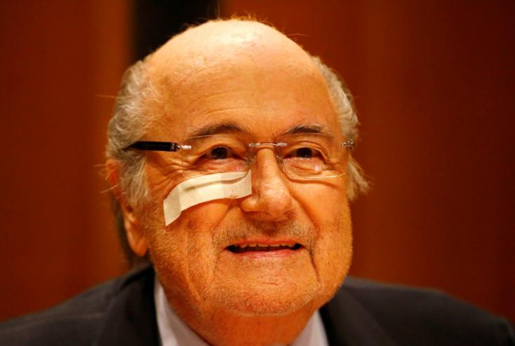 Blatter vastagon megtollasodott utolsó FIFA-elnöki évében
