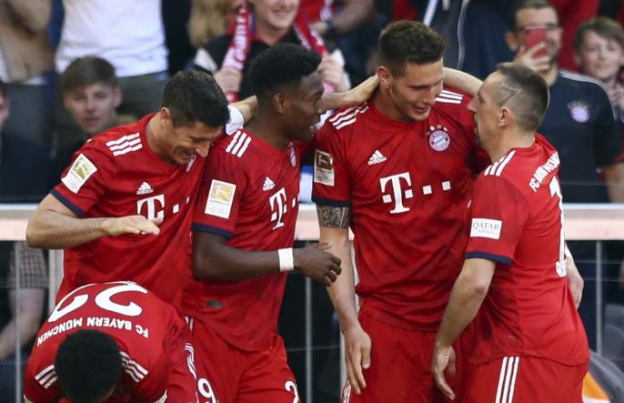 Bundesliga - Bajnok a Bayern München, Dárdai súlyos hazai vereséggel búcsúzott
