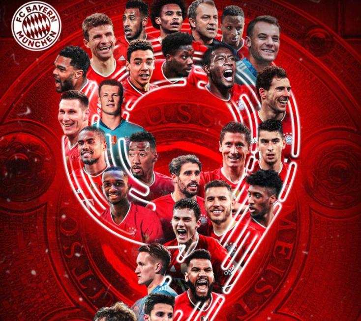 Szép sorozat: Kilencedszer ért a csúcsra a Bayern München