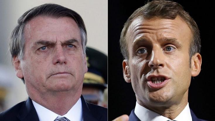 """Brazília mégis elfogadja a G7-gyorssegélyt, ha Macron visszavonja a """"sértéseit"""""""