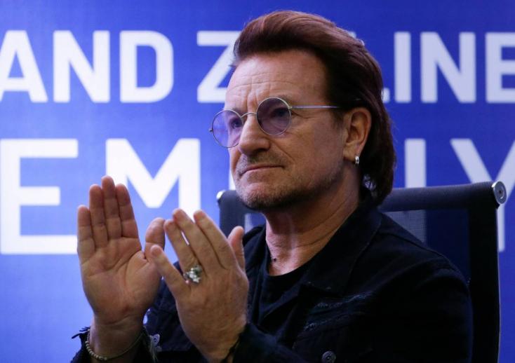 Szívszorító dalt tett közzé Bono a koronavírusról