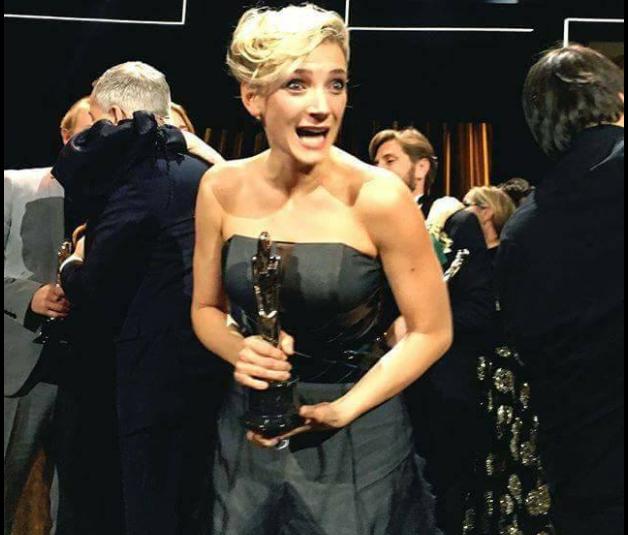 Borbély Alexandrát választották a legjobb európai színésznőnek