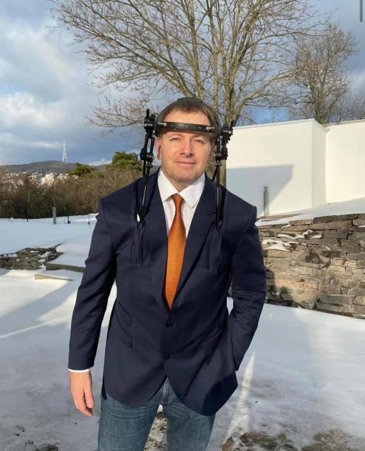 Boris Kollár viccelődve adott hírt egészségügyi állapotáról