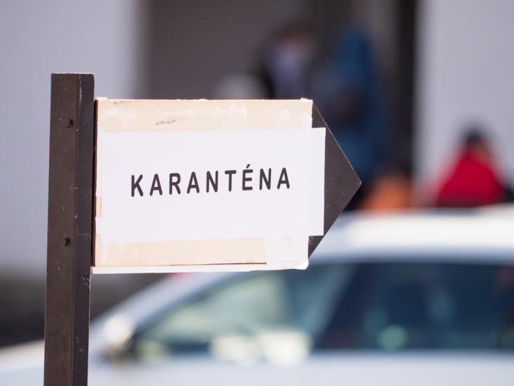 Újabb 56 személy hagyhatta el a bősi karanténközpontot