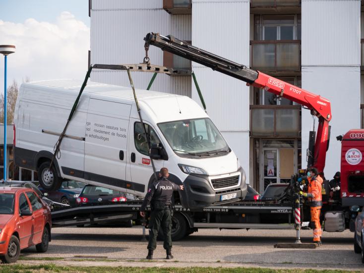 Külföldről érkezett egy fiatal férfi a bősi karanténközpontba, a furgonjával azonban nem stimmelt valami