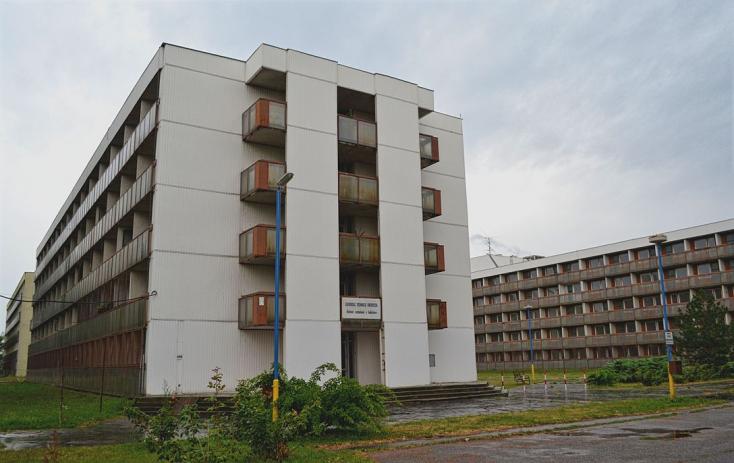 A bősi határában lévő komplexum a Szlovák Műszaki Egyetem tulajdonát képezi (Fotó: Paraméter)