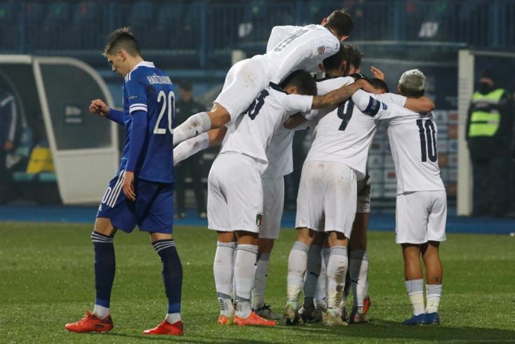 Nemzetek Ligája: Belgium és Olaszország is a négyes döntőben