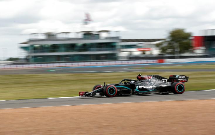 Brit Nagydíj - Bottas volt a leggyorsabb az utolsó szabadedzésen