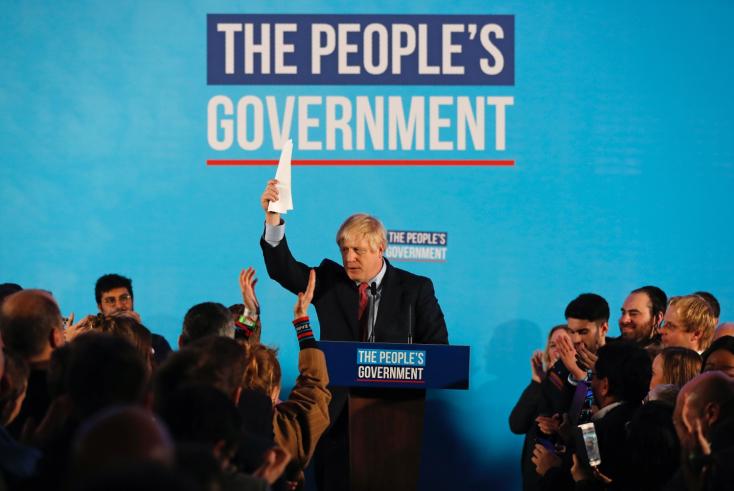 Fölényes győzelemet aratott a Konzervatív Párt Nagy-Britanniában
