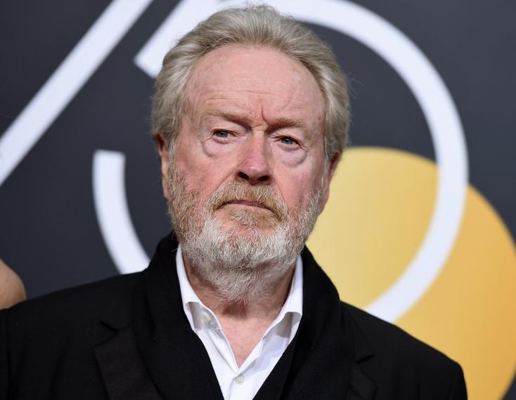 Ridley Scott seggfejezett egyet, majd elnézést kért Vilmos hercegtől