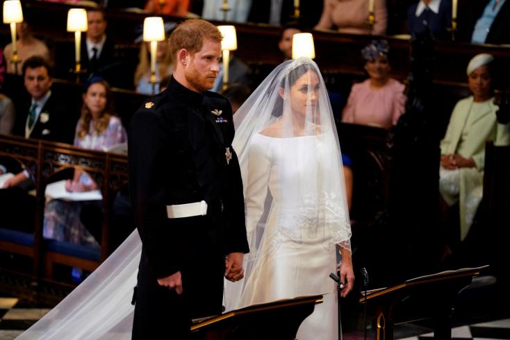 Hercegi esküvő: Megnősült Harry herceg (fotók+videó)