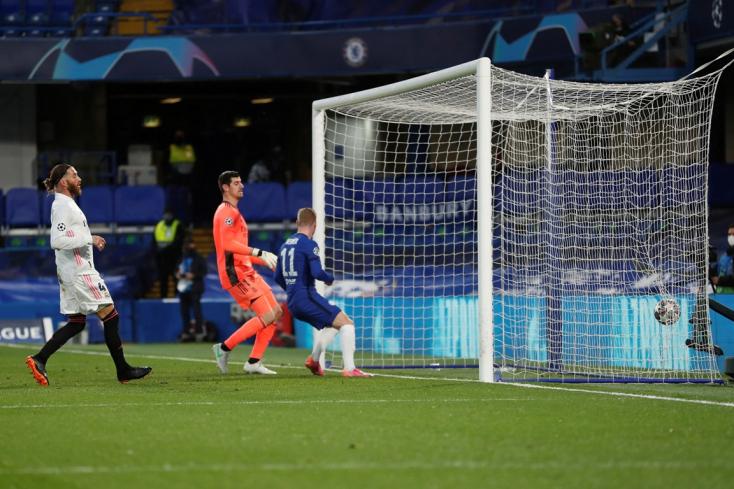 Bajnokok Ligája: Továbbjutott a Chelsea, angol házidöntő lesz