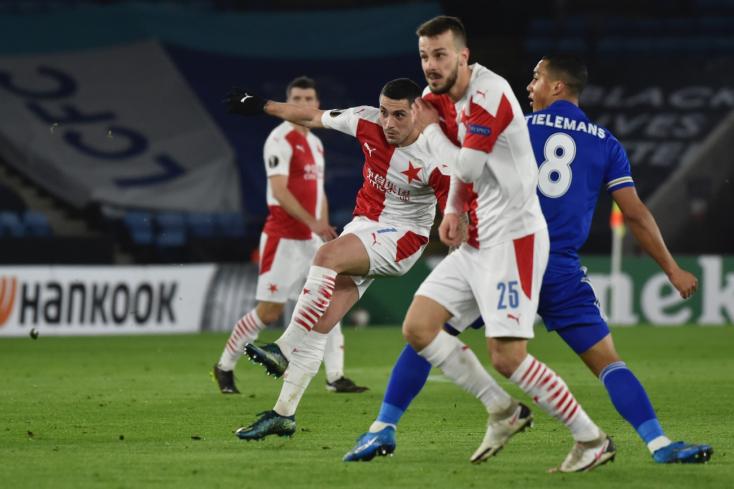 Európa-liga –Kikapott a Slavia Prahától a Leicester City