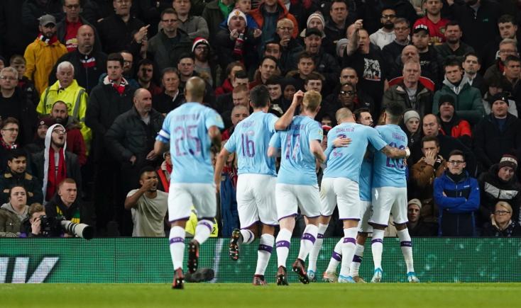 Manchester City-siker a manchesteri derbin