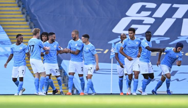 Premier League: Öt gólt kapott hazai pályán a Manchester City