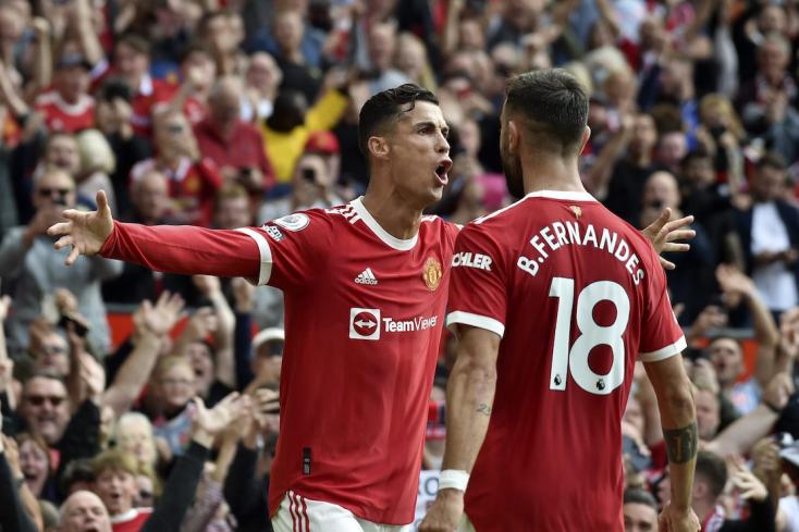 Premier League: Ronaldo rendesen bekezdett, két góllal vezette győzelemre a MU-t