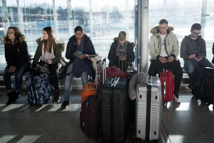 Nagy para az amerikai reptereken: Leállt a határvédelmi rendszer!