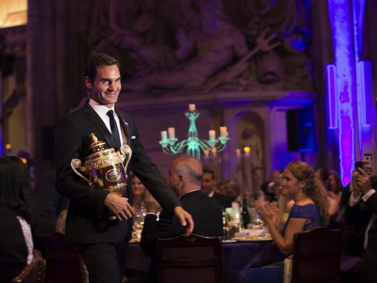 """Federer leteszi a """"lantot"""""""