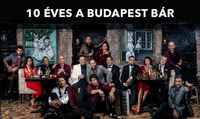 Február 28-án Dunaszerdahelyen lép fel a Budapest Bár!