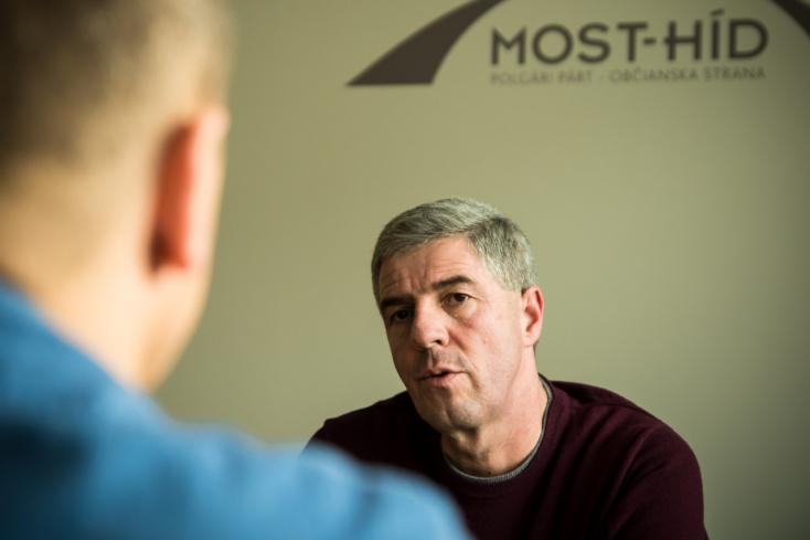 Bugár Béla a már rég kampányoló Robert Mistríkkel vitázott az elnökjelöltségről