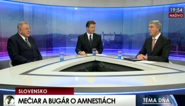 Mečiar-Bugár vita: miről árulkodott a politikusok testbeszéde?